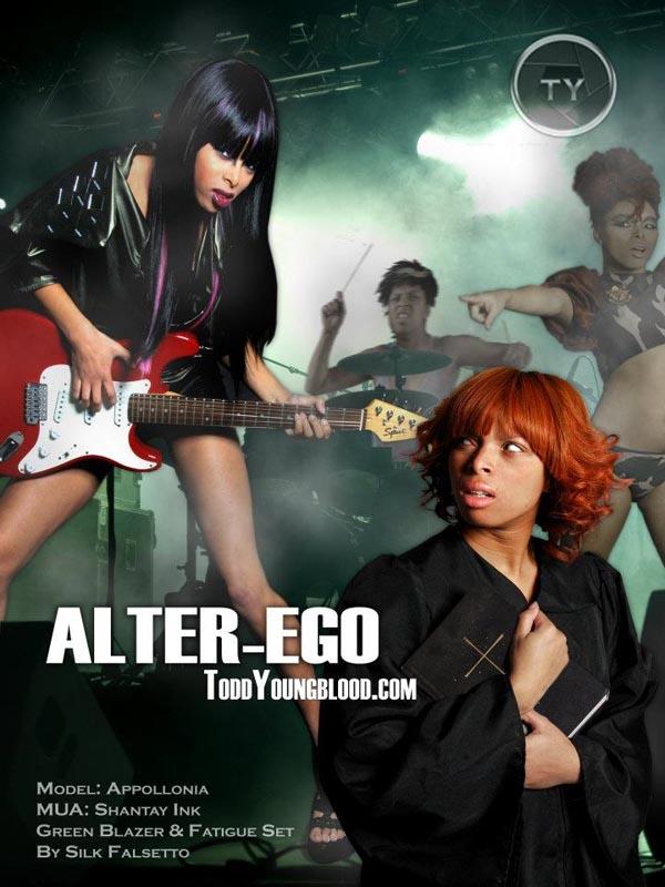 Rock Star Alter-Ego Appollonia