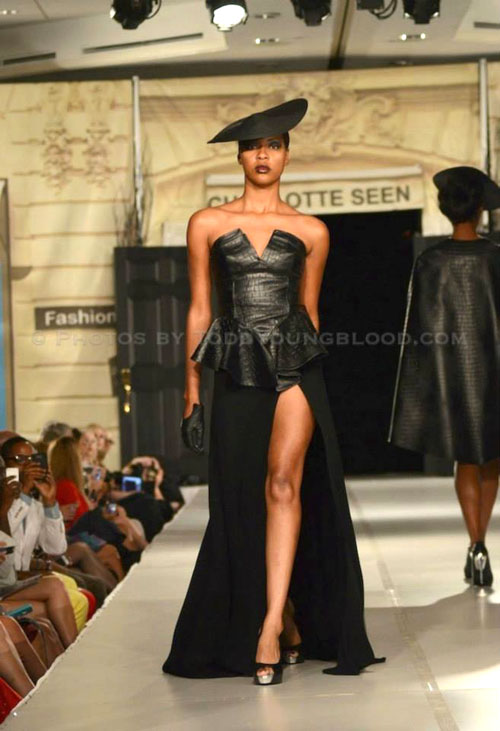 Charlotte Seen Fashion Week design from Nicci Hou Collection