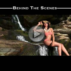 Waterfall photo shoot & video