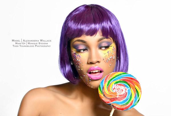 Creative Candy Photo Concept