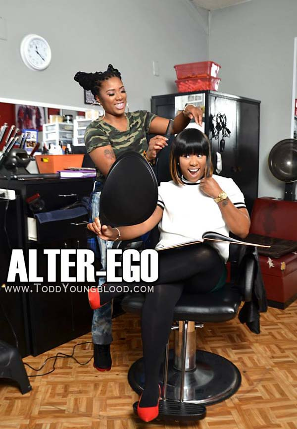 Alter-Ego of Hair Stylist and Client