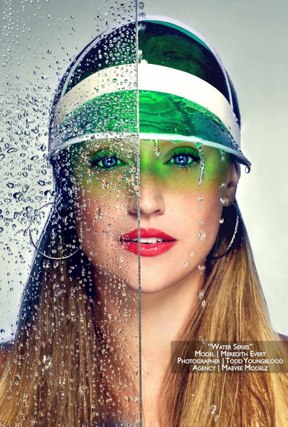 Creative water photography concepts