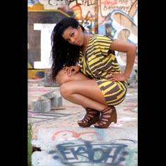 Sexy Urban Photography, Graffiti Scene NODA Charlotte