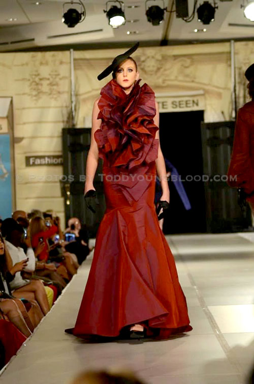 Charlotte Seen Fashion Week