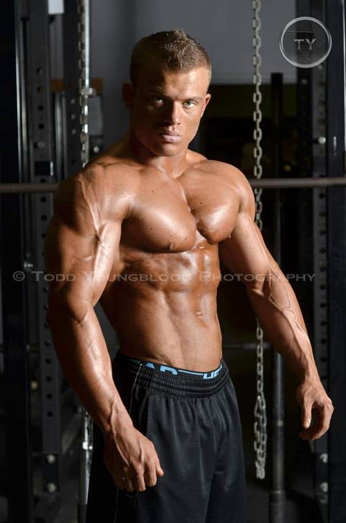 NPC Bodybuilder photo shoot.