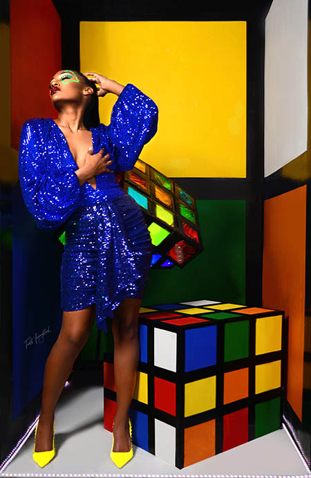 Rubiks Cube Editorial photoshoot